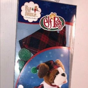 Puppy PJs Elf on the Shelf Pets Plaid Pajamas Hat